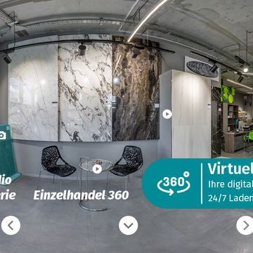Virtueller Showroom 360 Grad